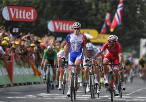 Тур де Франс. 18 етап. Французький дует розділив золото і срібло, третє місце Крістоффа