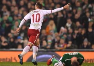 ЧС-2018. Данія розтрощила Ірландію у плей-офф відбору