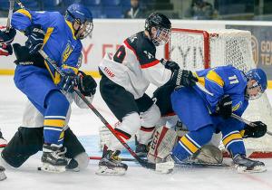ЧС з хокею (U-18). Україна сенсаційно перемогла Австрію