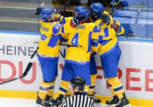 ЧС з хокею (U-18). Україна здобула третю перемогу поспіль