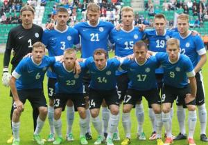 Браві естонські хлопці. З ким завтра зіграє збірна України