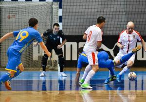 Футзал. Відбір на ЧС-2020. Україна програла Іспанії і вилетіла з турніру