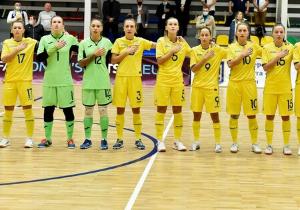 Відбір Євро-2022 з футзалу. Жінки. Україна забила 7 голів Бельгії