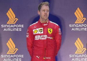 Формула-1. Феттель підкорив Гран-прі Сінгапуру