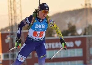 ЧЄ-2021 з біатлону. Меркушина принесла Україні першу медаль