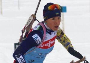 Кубок світу з біатлону. Жіноча збірна України прийшла 8-ю в естафеті