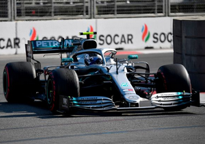 Формула-1. Боттас тріумфував у Баку