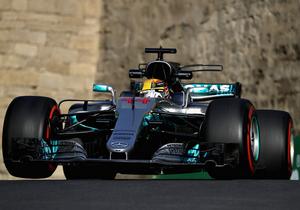 Формула-1. Хемілтон виграв кваліфікацію в Азербайджані