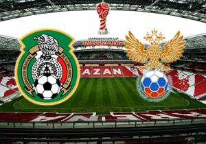 Кубок Конфедерацій. Мексика - Росія. Анонс, суддя, трансляція