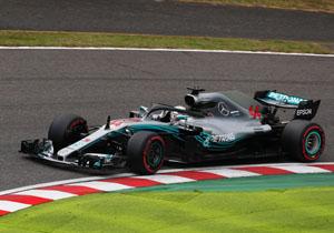 Формула-1. Гран-прі Японії. Хемілтон бере поул, Феттель тільки дев'ятий