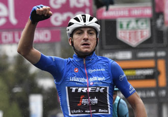 Джіро д'Італія. 16 етап. Карапас втримав лідерство, домашній тріумф Чікконе