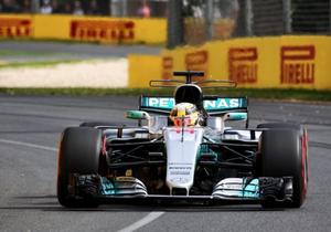 Формула-1. Хемілтон виграв першу кваліфікацію