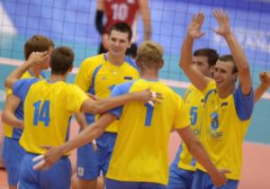 Волейбол. Україна програла туркам в першій грі