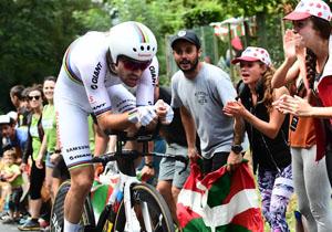 Тур де Франс. 20 етап. Дюмолен виграв індивідуалку, випередивши Фрума та Томаса