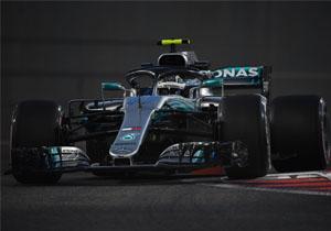 Формула-1. Боттас найкращий на останніх практиках сезону