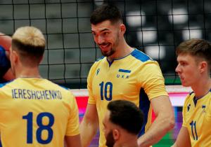 ЧЄ з Волейболу. Україна впевнено перемогла Чорногорію