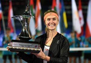 WTA Дубай. Світоліна красиво виграла трофей