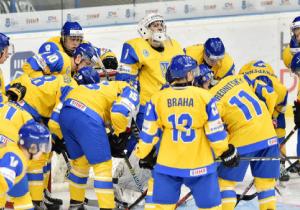 ЧС з хокею (U-20). Українці розгромили естонців в останній грі