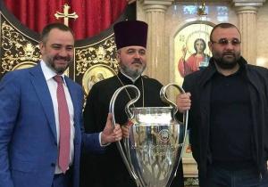 Церква, братки і Павелко. У чиїх руках побував в Україні Кубок Ліги чемпіонів