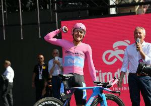 Джіро д'Італія. 21 етап.  Еквадорець Карапас - тріумфував в загальному заліку
