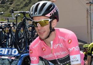 Джіро д'Італія. Єйтс виграв 9-й етап і володіє рожевою майкою