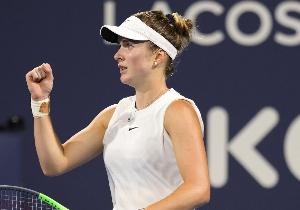 WTA Маямі. Світоліна розбила латвійку і вийшла у півфінал