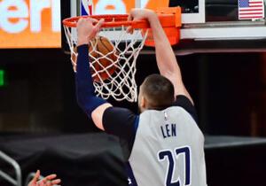Лень став найрезультативнішим українцем в історії НБА (+ВІДЕО)
