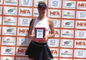 ITF Анталія. 16-річна українка виграла свій перший дорослий титул
