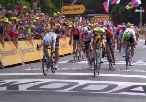 Тур Де Франс. 1 етап. Нідерландець Теннісен виграв стартову гонку