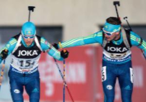 Кубок світу з біатлону. Чоловіча збірна  посіла 11-е місце в естафеті