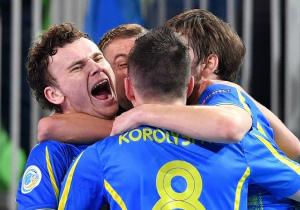 Збірна України з футзалу вийшла у наступний раунд відбору ЧС-2020