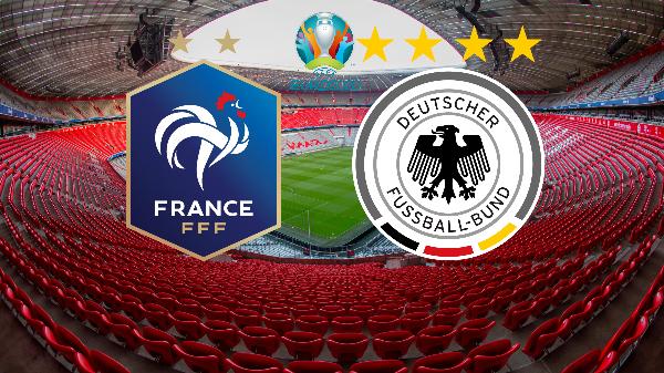 Євро-2020. Франція - Німеччина. ОНЛАЙН