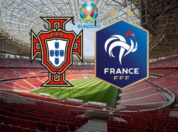 Євро-2020. Португалія - Франція. ОНЛАЙН