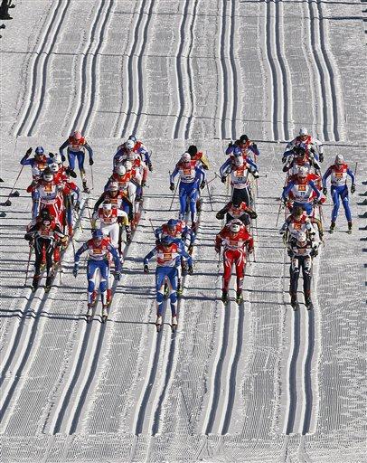 Кваліфікацію в лижному спринті виграла норвежка Бьерген (90.37 Kb)