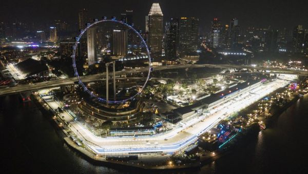 Формула-1. Гран-прі Сінгапуру. ОНЛАЙН