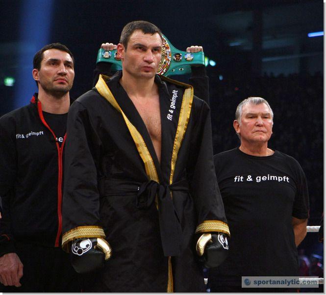 Виталий Кличко заявил о завершении боксерской карьеры