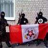 Фанати із символікою клубів б'ються у зоні АТО (ФОТО)