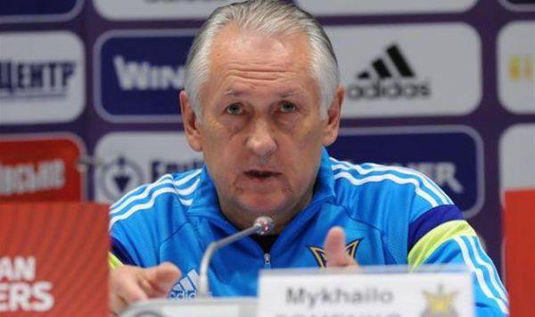 Фоменко: Сподіваюсь, у збірній не буде конфліктів