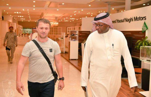 Ребров вошел в историю Саудовской Аравии