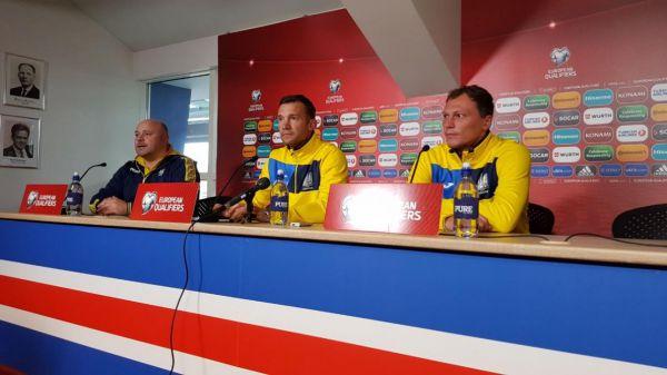 Шевченко перелічив сильні сторони збірної Ісландії