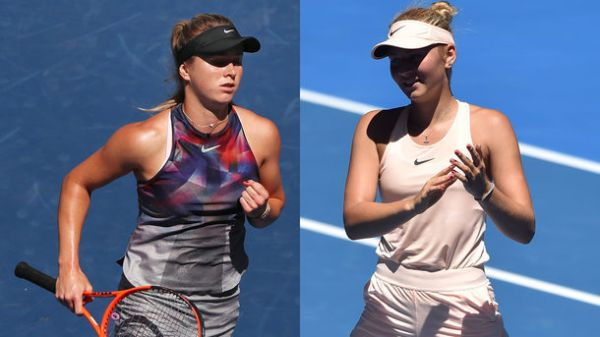 Australian Open. Еліна Світоліна - Марта Костюк. ОНЛАЙН