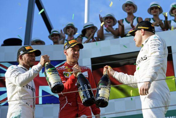 Формула-1. Феттель – победитель Гран-при Австралии