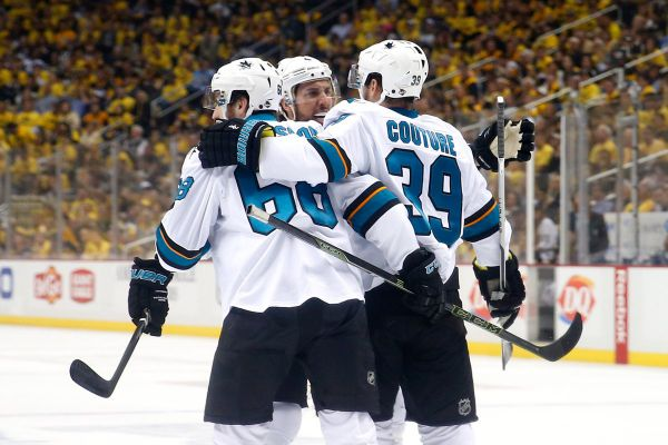 """НХЛ. """"Акули"""" перемагають у Піттсбургу"""