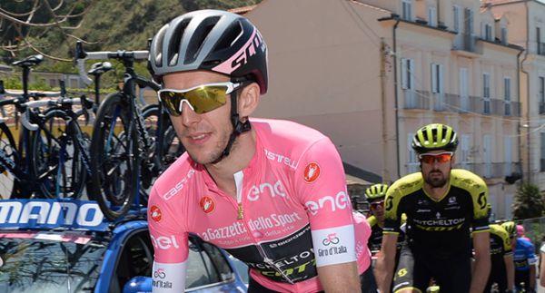 Джиро д'италия. Йейтс выиграл 9-й этап и обладает розовой майкой