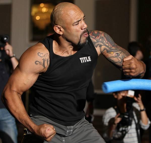Відкрите тренування UFC (ФОТО)
