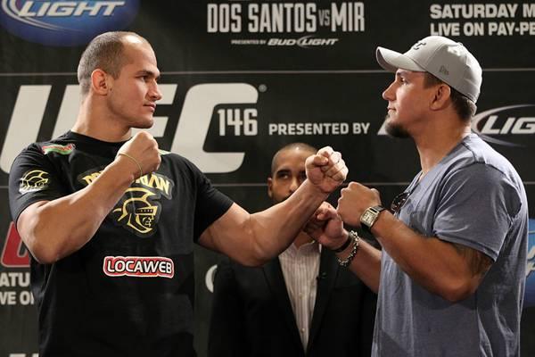 Прес-конференція перед шоу UFC 146 (ФОТО)