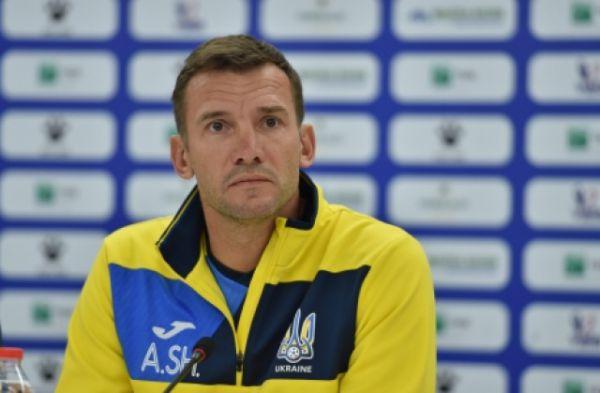 Шевченко обнародовал состав сборной на матчи Лиги наций