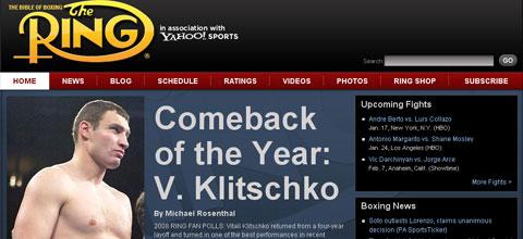 THE RING: Віталій Кличко - повернення року в світовому боксі + ВІДЕО