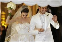 Форвард «Мілана» Алешандре Пато одружився з бразильською актрисою (ФОТО)