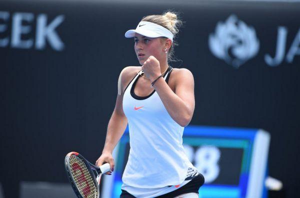 14-річна українка Костюк виграла дорослий тенісний турнір вУгорщині